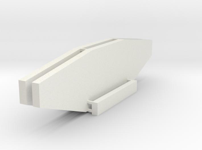 End Bent- Plt-Gdr N Scale 3-4-16 3d printed