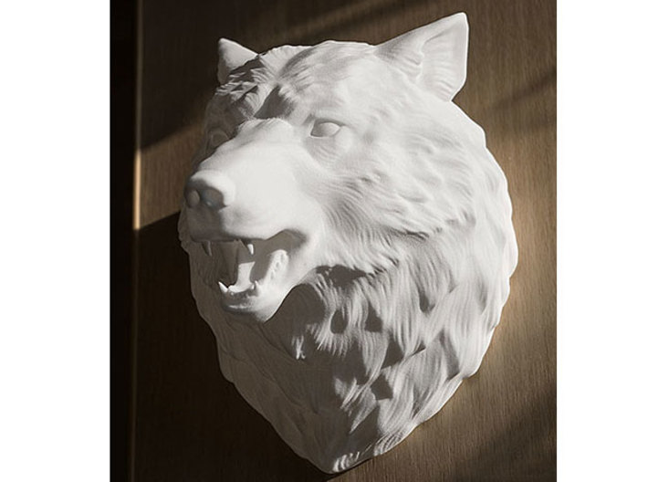 Angry Wolf Wall Mount Csgexqjys By