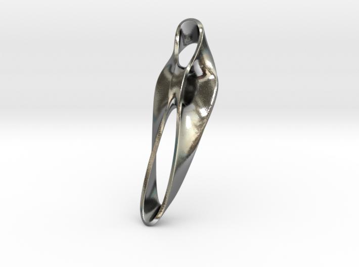 Triple Cube Silver 047 3d printed