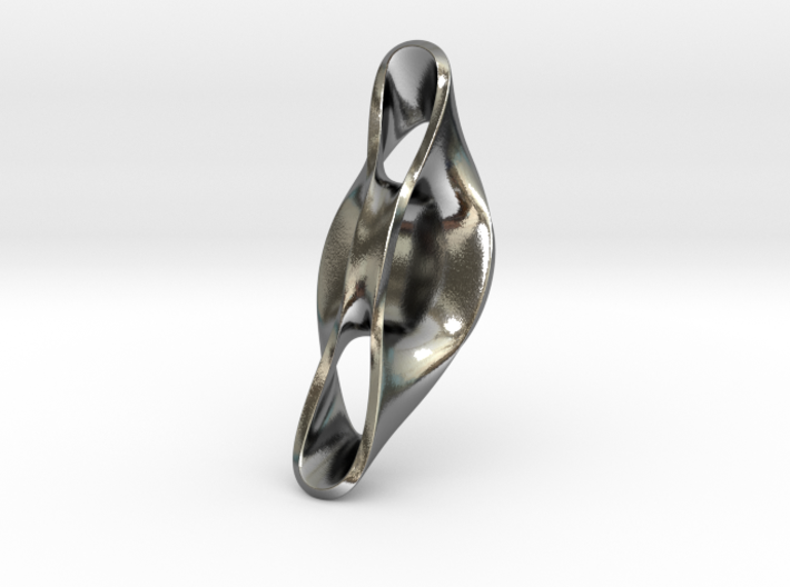 Triple Cube Silver 054 3d printed