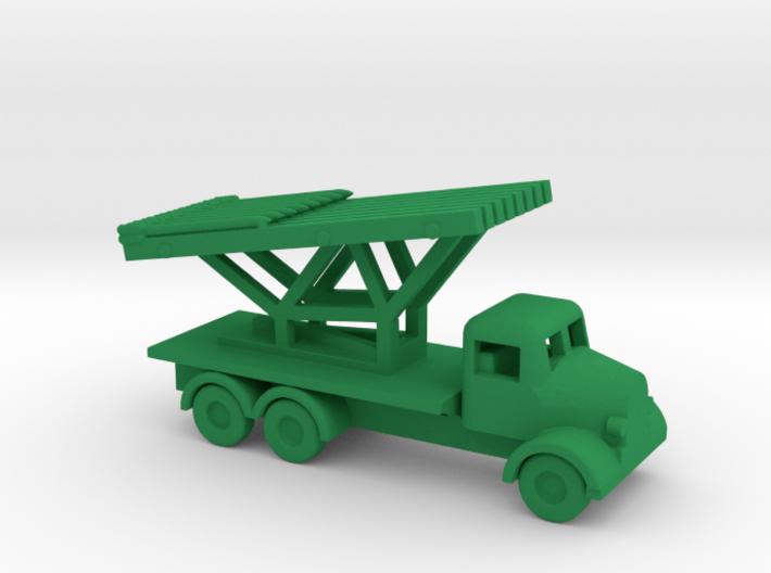 1/200 Scale Austin K6 Rocket Launcher 3d printed