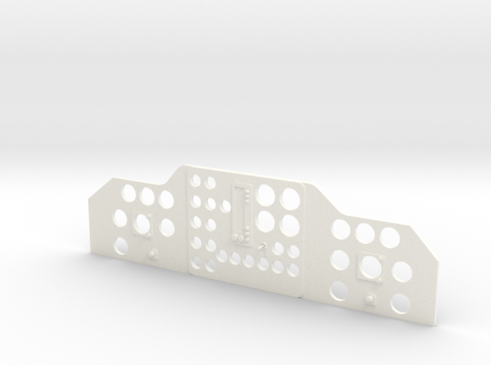 PN Wessex Instrument Panel 3d printed