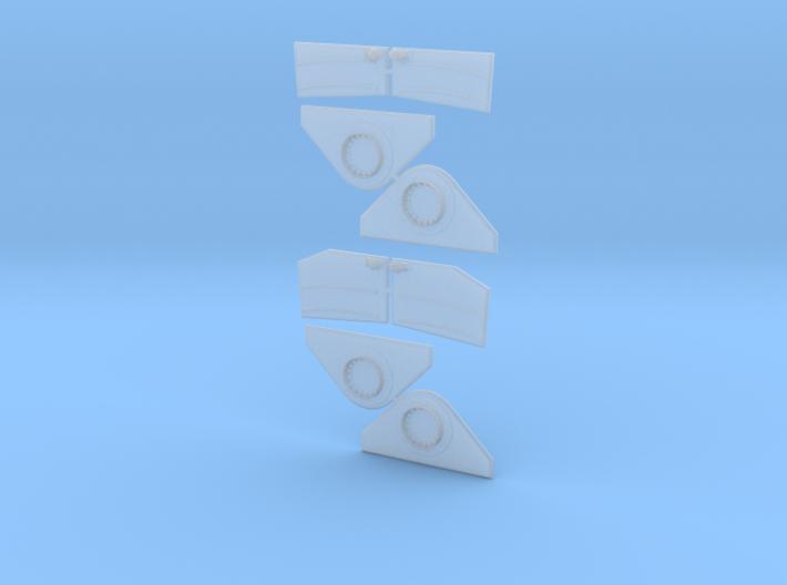 1/32 Torpedo Tube Turntables and Slides 3d printed