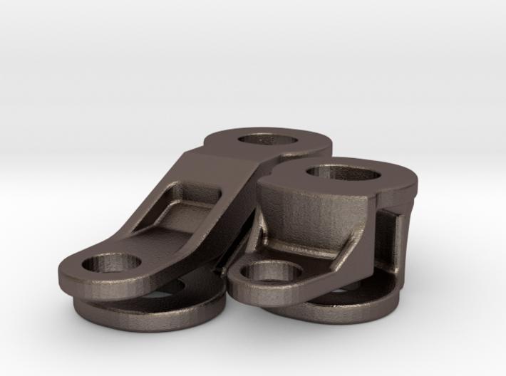 Topcaseadapter Stahlteile 3d printed