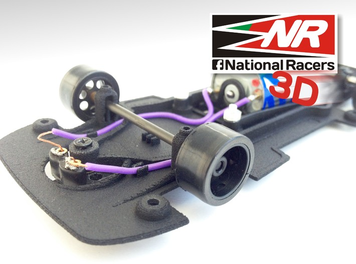 3D chassis for Fly Ford Capri RS Turbo (Combo) 3d printed