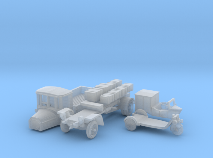 Spedition SET (N 1:160) 3d printed