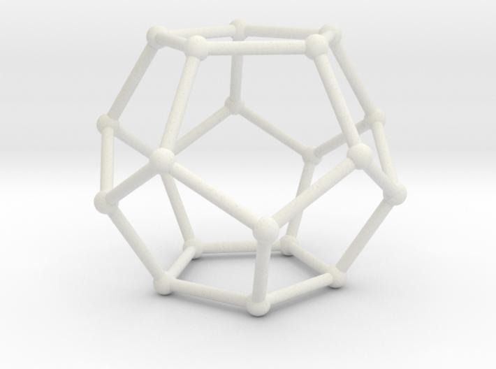 Pentahedronpieza 3d printed