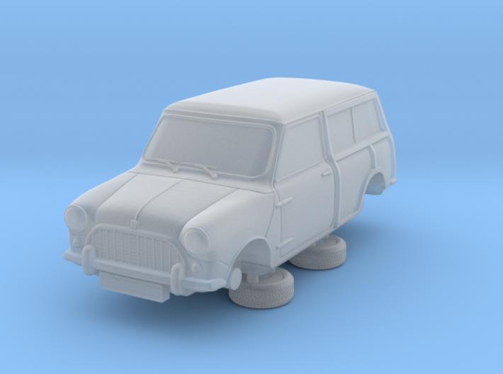 1-76 Austin Mini 60 Estate Clubman 3d printed