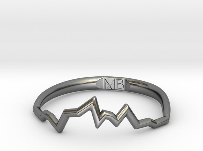 Maria Soundwave Ring 3d printed
