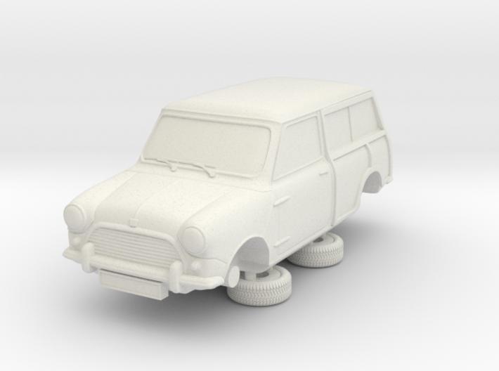 1-64 Austin Mini 64 Estate Clubman 3d printed