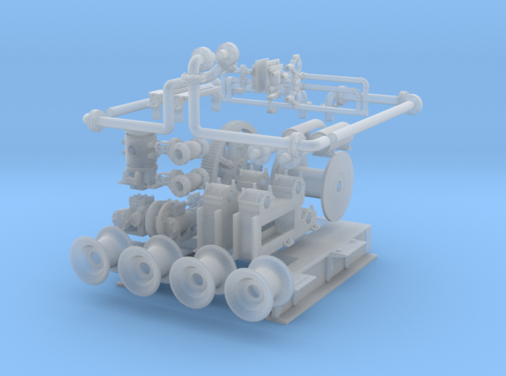 Cargo Winch 3d printed