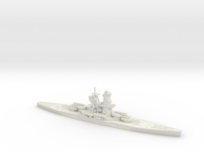 IJN Hiraga 1/1800 (Hiraga's Treaty Battleship) 3d printed