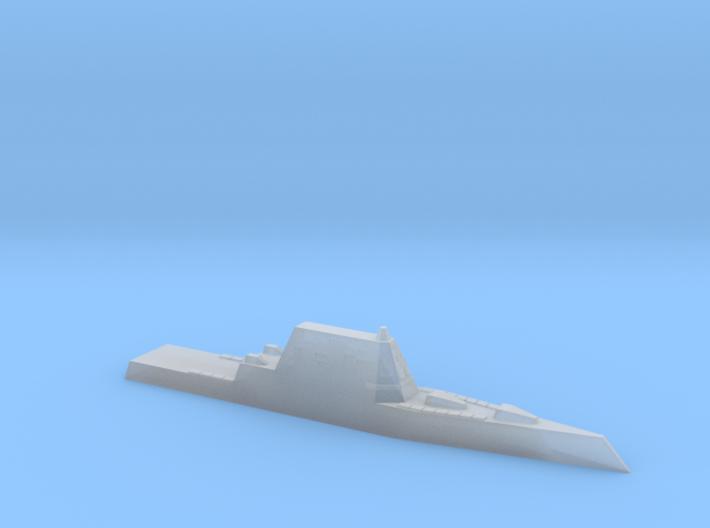USS Zumwalt, 1/6000 3d printed