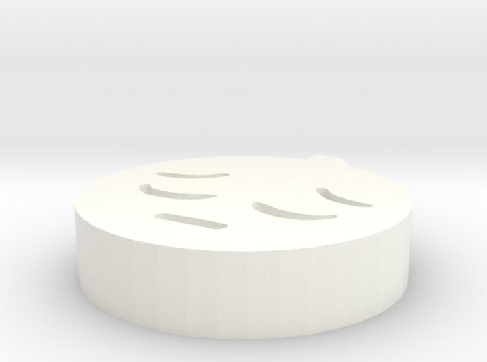Happy and sad pendant 3d printed