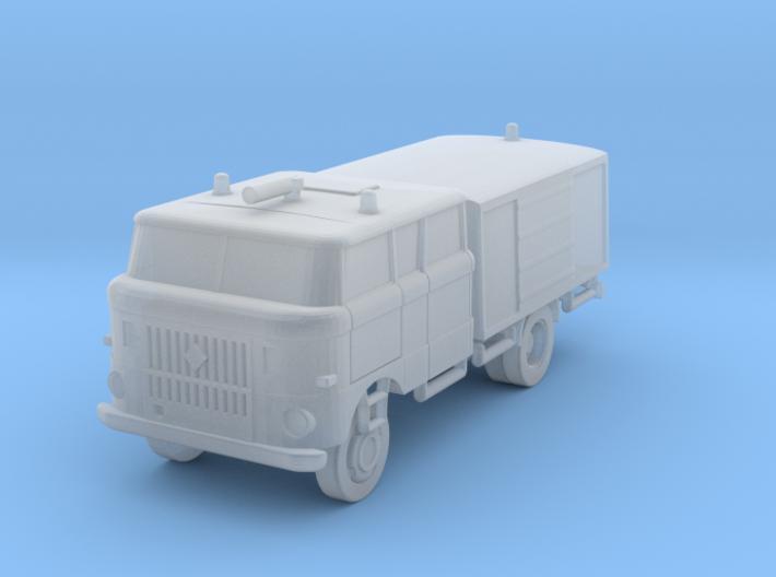 W50 Feuerwehr / Fire truck (Z-Scale 1/220) 3d printed