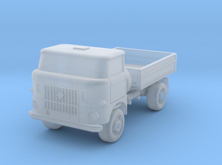 W50 Allrad-Kipper / 4WD Dumper (1/220) 3d printed