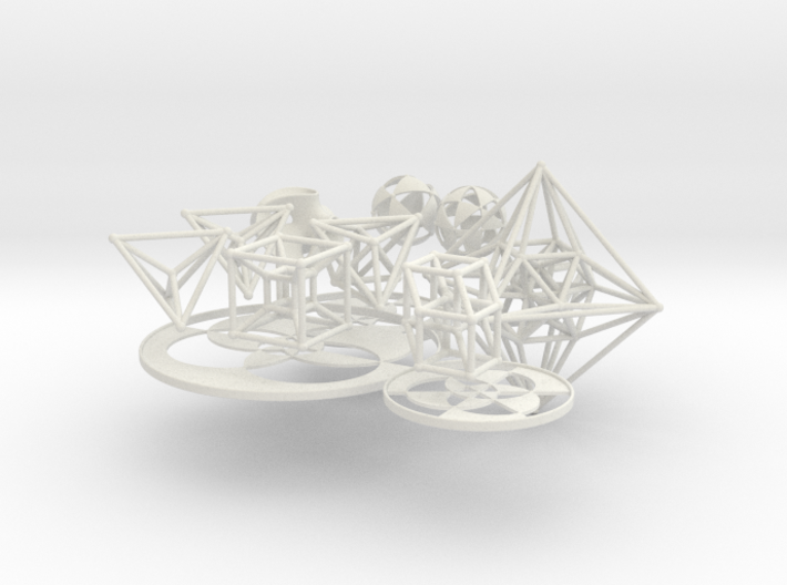 Geometrix Collection 6 3d printed