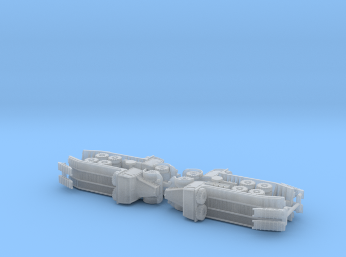 French Bernard 15to Porte Char (Tank Transporter)  3d printed