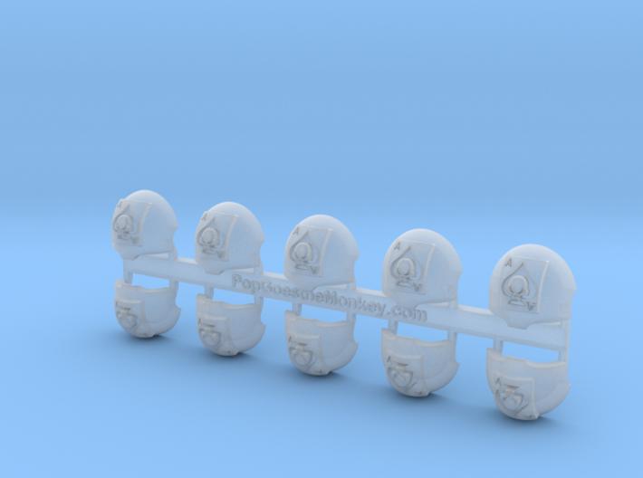 Death Dealers = Terminator Shoulder x10 3d printed