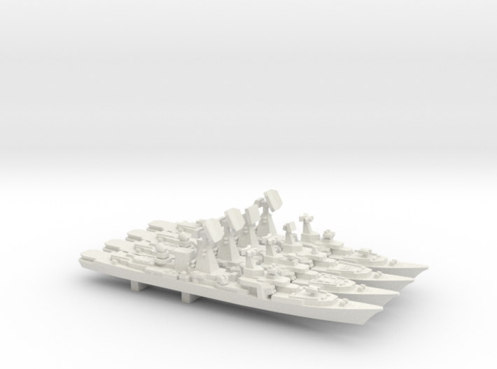 Kara Class evolution pack, 4 pc, 1/2400 3d printed