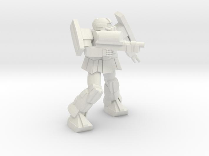 'Pug' A1A Pugnator pose 7 3d printed