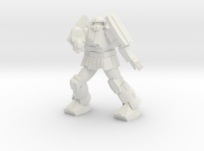 Bulldog pose 4 3d printed