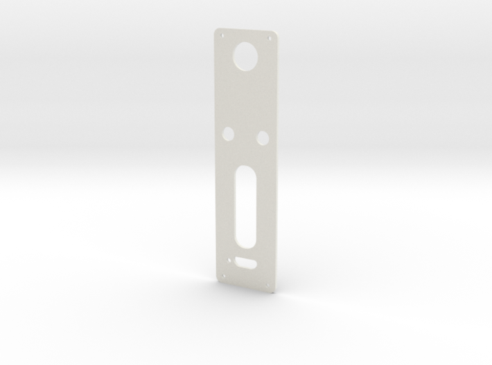 DNA60 Template - Mounting Plate Large Screen w/USB 3d printed