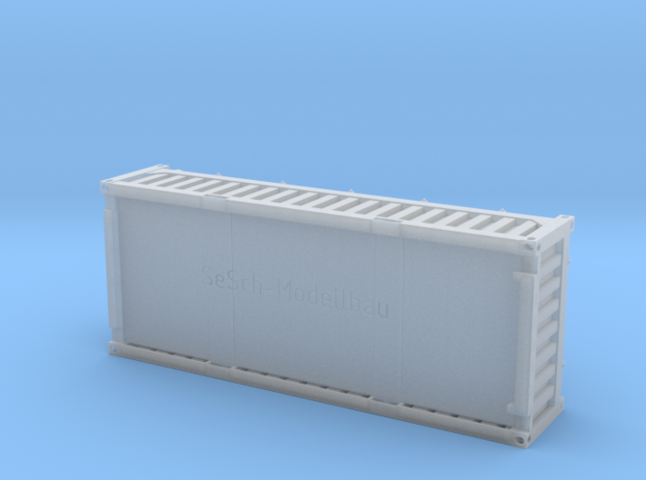 """20 ft """"Half Height"""" Container 3d printed"""