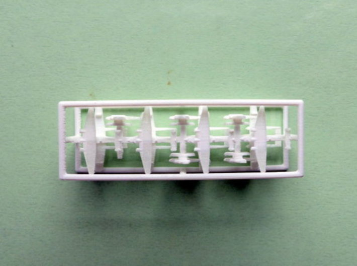 German Seaplanes Do 24, He 115, BV 138 1/1800 3d printed 1/2400 Models