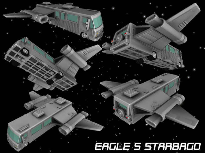 Eagle 5 Starbago 3d printed