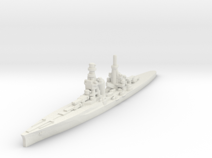 Zara class heavy cruiser 1/1800 3d printed