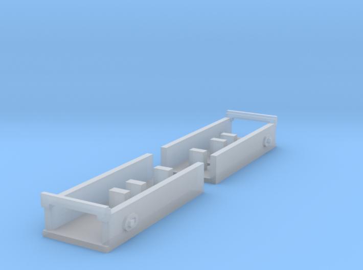 """Atlas O Scale 0.300"""" Coupler Box 3d printed"""
