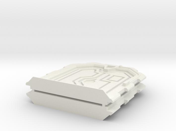 Sci-Fi Door - 28mm - MDF Building Detail 3d printed