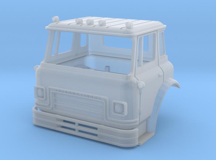 1/64 (S-scale) International Cargostar Cab 3d printed