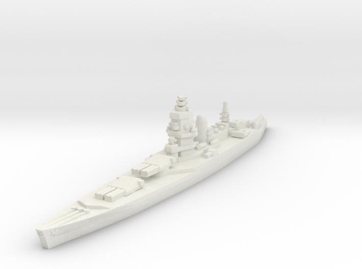 Dunkerque class battlecruiser 1/1800 3d printed