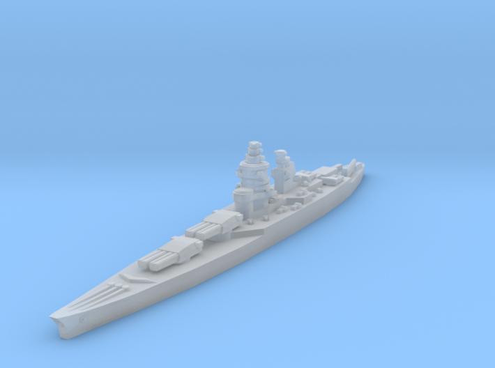 Richelieu battleship 1/4800 3d printed