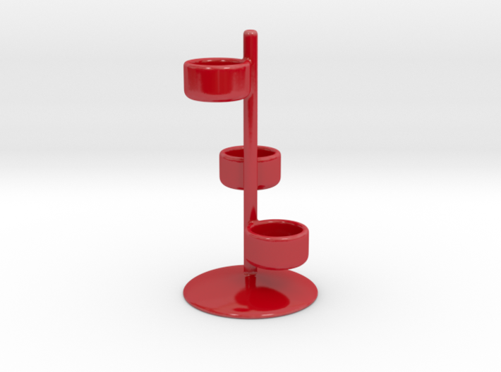 Tealight Triple Candle Holder 3d printed