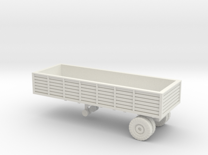 1/144 US trailer for Autocar tractor 3d printed