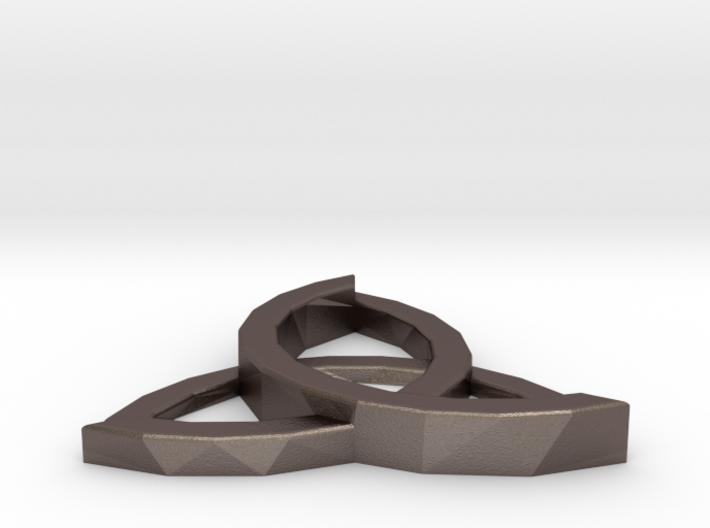 Celtic Hyperion Pendant 3d printed