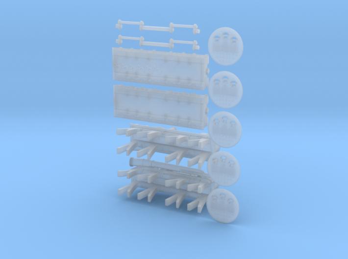Titanic Engine Room Set 3d printed