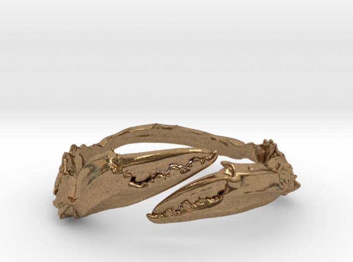 Crab Ring 3d printed