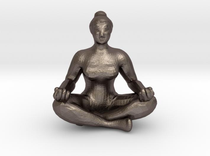 Yogi's Pendant 3d printed Front View