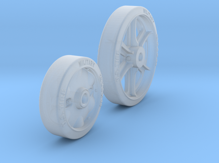 1-24 M5 Stuart Road+Idler Wheels Sample Set2 3d printed
