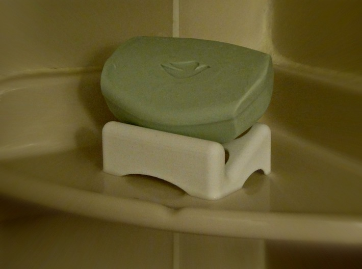 Soap Dish 5W 3d printed
