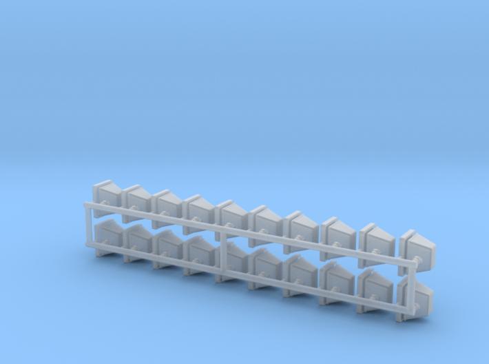 1-24 Halogen Heads Adj Base X20 3d printed