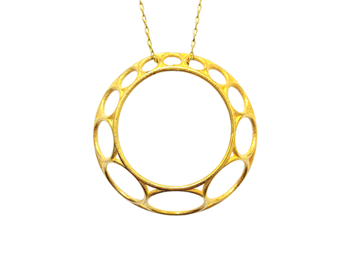 Chain Pendant 3d printed