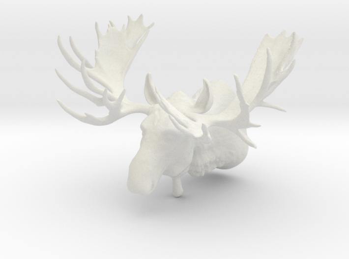 """""""Hook"""" the Moose Shoulder Mount 3d printed"""
