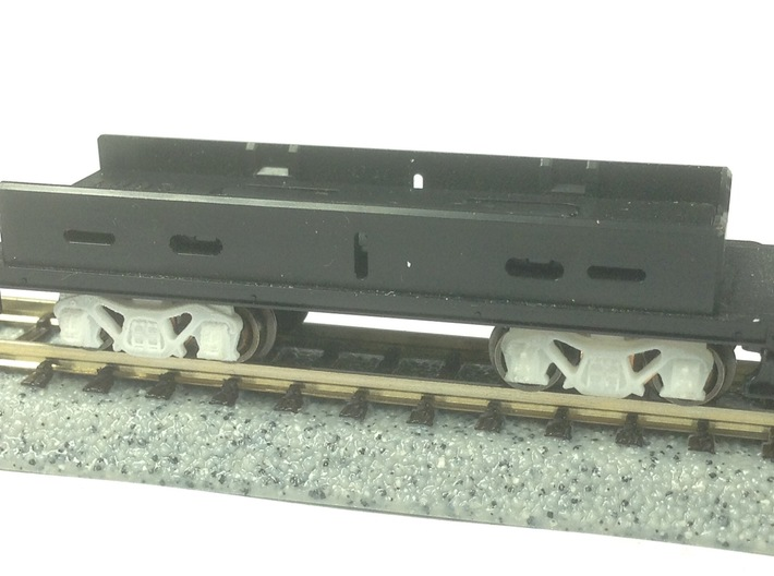 N Scale PRR Keisel truck for Kato Mikado 3d printed