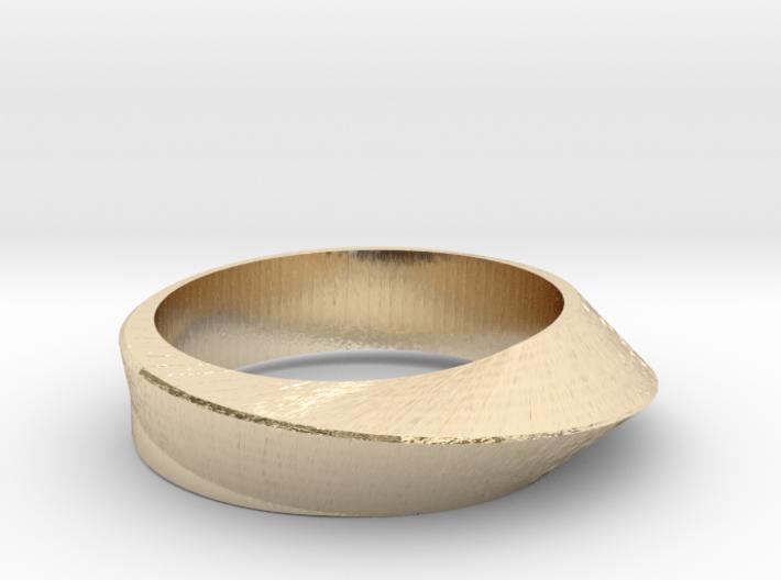 Ring Moebius 3d printed