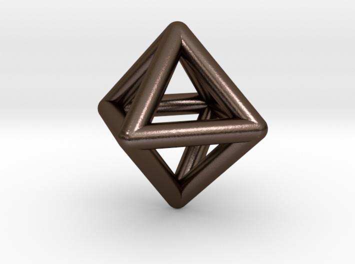 0595 Octahedron E (a=10mm) #001 3d printed